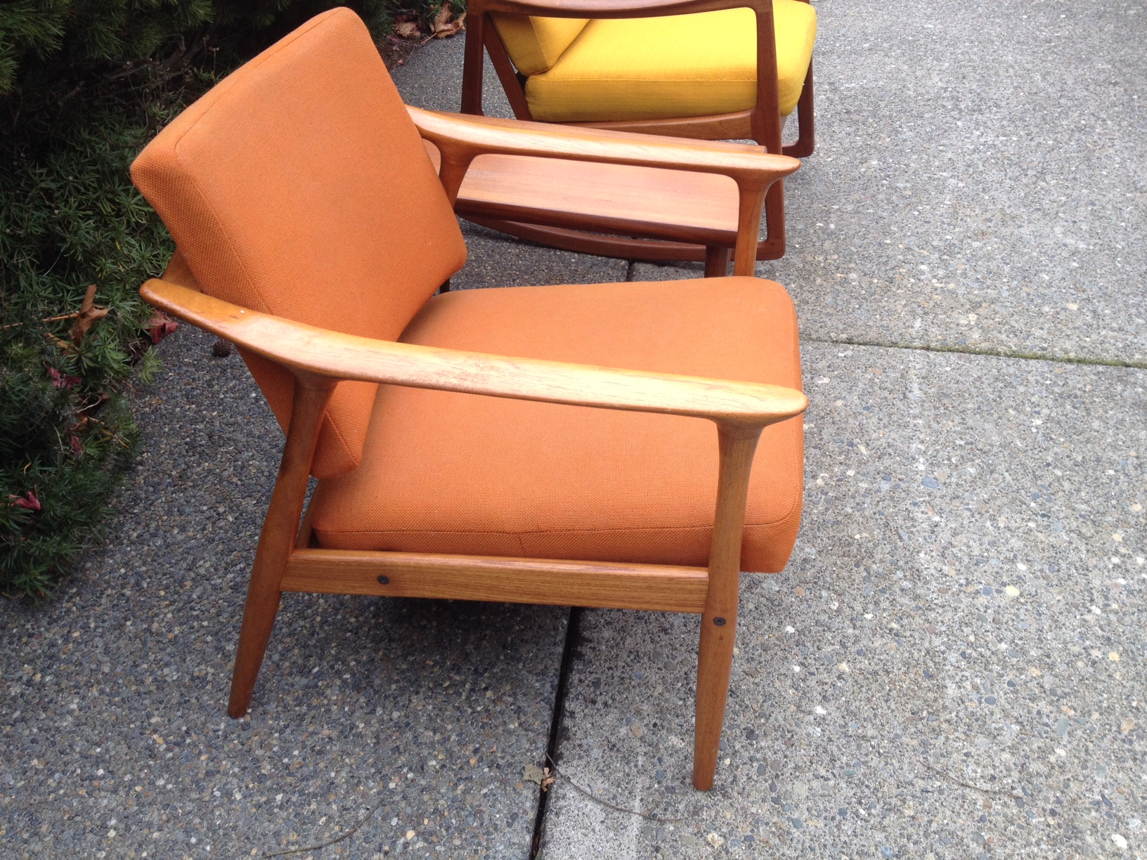 Teak Furniture Retro 2 Chairs And A Table 150 Tacoma Dawhitestboyalive